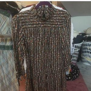 FREE PEOPLE NWT Vintage Floral Mini Dress (S)